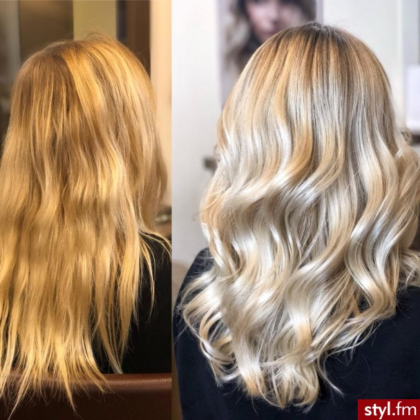 Piękne sombre na włosach długich. https://forhairsobieski.pl/ - Blond Rozpuszczone Kręcone Na co dzień Długie Fryzury