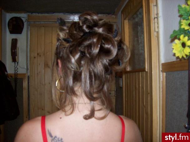 Fryzury Wieczorowe Włosy Fryzury średnie Wieczorowe