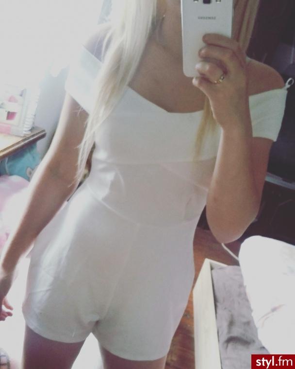 http://www.vinted.pl/damska-odziez/kombinezony-krotkie/24123903-bialy-kombinezon-krotki-missguided-s-odkryte-ramiona - Pozostałe Ciuchy Moda