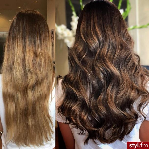 Salon fryzjerski For Hair to miejsce przemian i przestrzeń cudu. https://forhair.salon/ - Brązowe Rozpuszczone Kręcone Wieczorowe Długie Fryzury