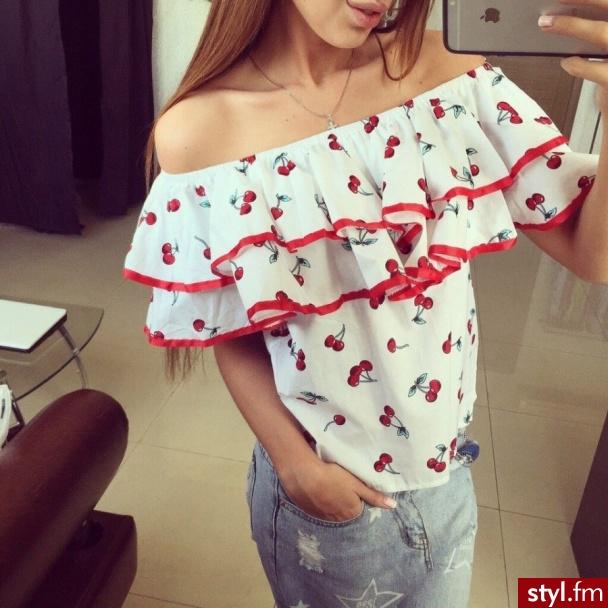 Bluzki Ciuchy Moda