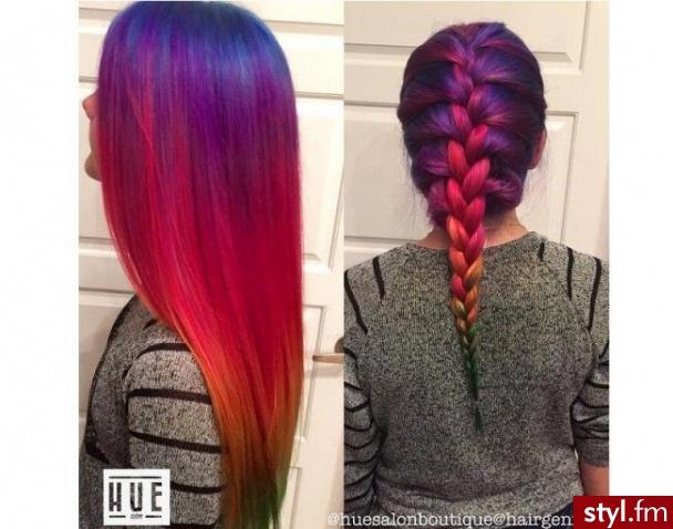Fryzury Czerwone Włosy Fryzury Długie Alternatywne Punk