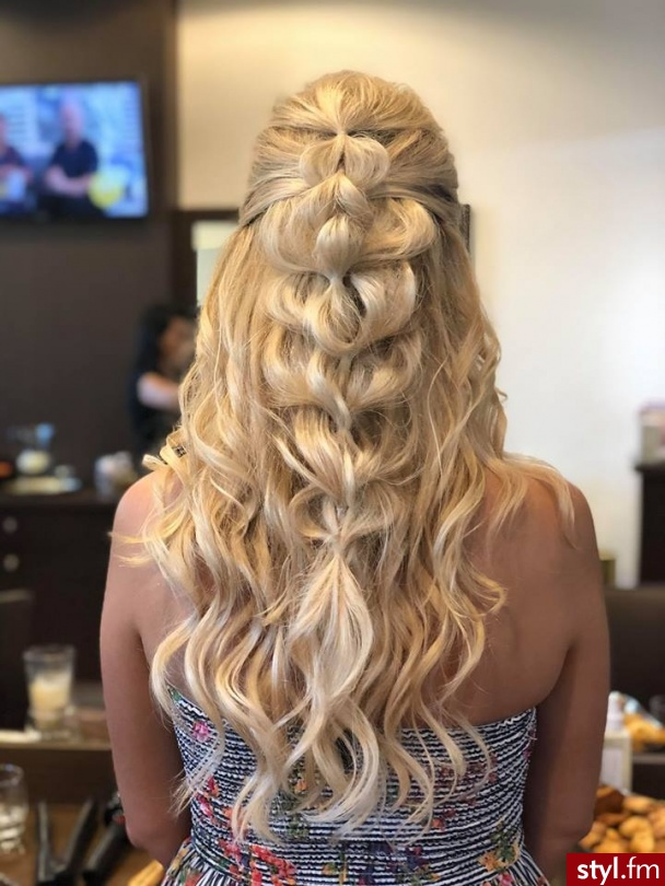 Fryzury Blond Włosy Fryzury Długie Fryzury Gwiazd Proste