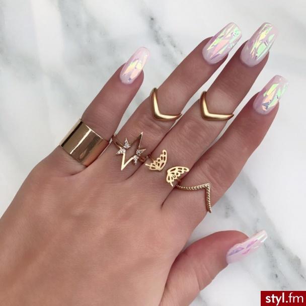 Pierścionki Biżuteria Moda