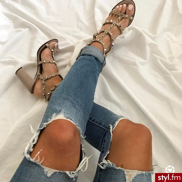 Jeansy Spodnie Moda