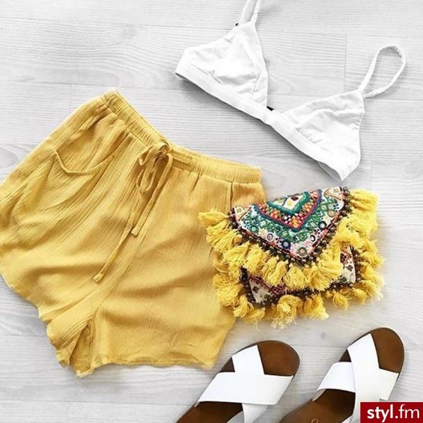 Szorty Spodnie Moda