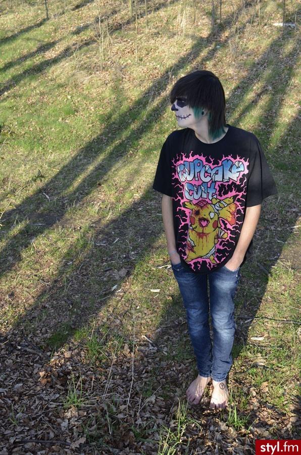 Turkus :3 - Kolorowe Punk Rock Alternatywne Średnie Męskie Fryzury
