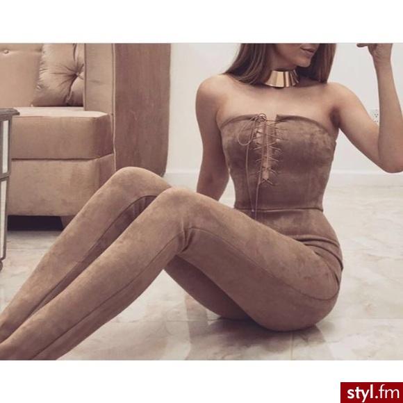 Kombinezony Spodnie Moda