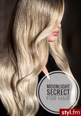 sombre z Olaplex fryzjer Warszawa salon FOR HAIR moonlight secret - Blond Rozpuszczone Proste Na co dzień Długie Fryzury