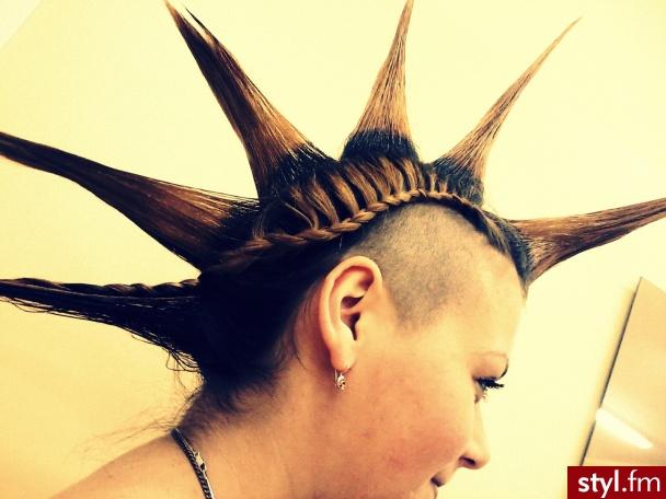 aah :D Madzia :D - Punk Rock Alternatywne Długie Fryzury