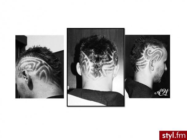 Punk Rock Alternatywne Krótkie Męskie Fryzury