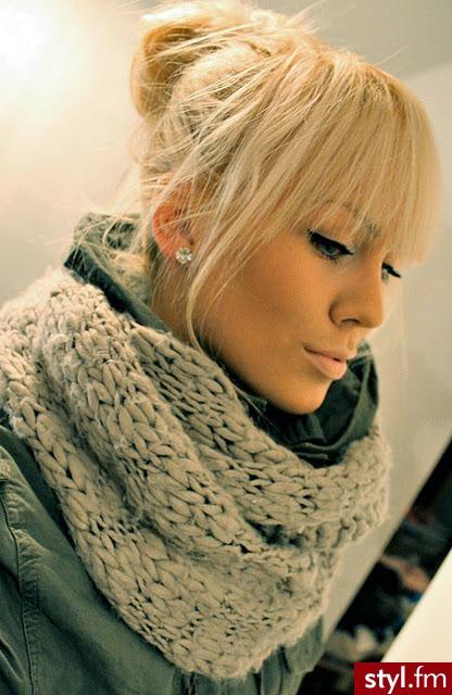 Fryzury Blond Włosy Fryzury Długie Na Co Dzień Proste Z