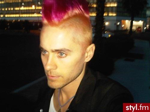 Kolorowe Punk Rock Alternatywne Krótkie Męskie Fryzury
