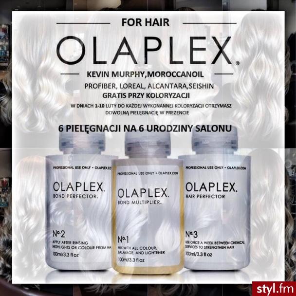 Olaplex gratis fryzjer Warszawa salon For Hair - Rozpuszczone Proste z grzywką Na co dzień Długie Fryzury
