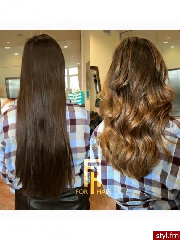 Koloryzacja sombre z olaplex , pracę wykonała Kasia. #włosy  #hair  #styl #sombre - Blond Rozpuszczone Proste Wieczorowe Długie Fryzury
