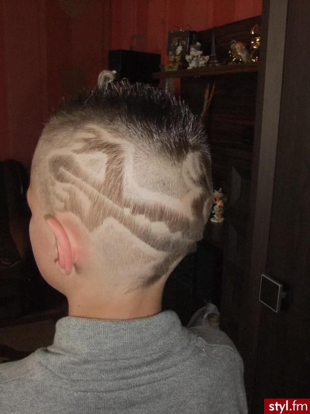 Fryzury Męskie Tribale Wzory Na Głowie Włosy Fryzury
