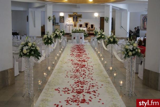 Moda ślub Dekoracje ślubne