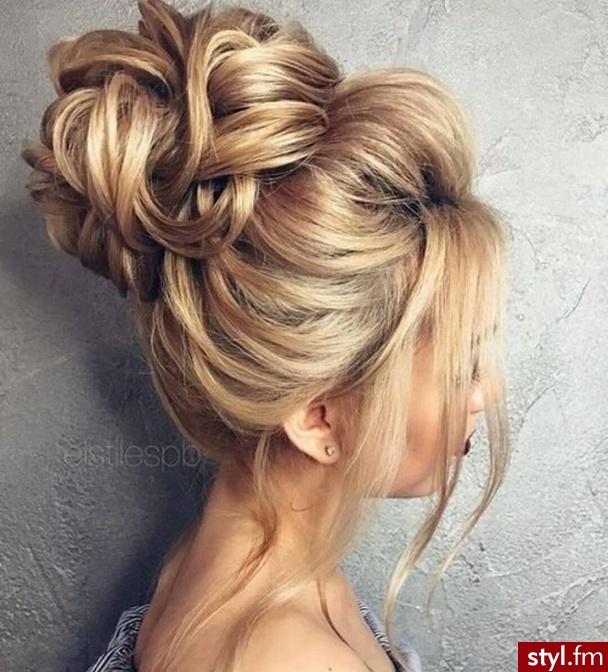 Blond Kok Kręcone Na co dzień Długie Fryzury