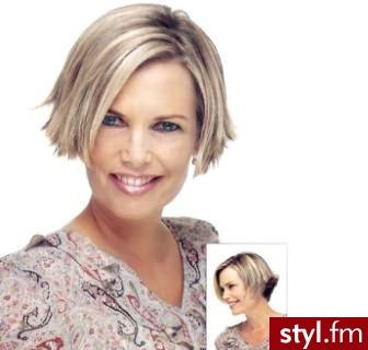 krótkie fryzury z grzywką. Fryzury - krótkie włosy. krótkie fryzury z grzywką - Internetowy Katalog Fryzur IKF.com.pl, propozycje fryzur na każdą okazję np. fryzury dziecięce - Krótkie Fryzury