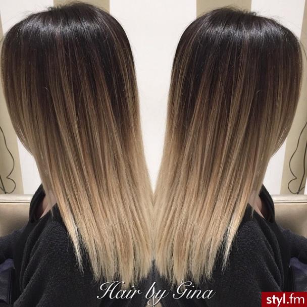 Fryzury Blond Włosy Fryzury Długie Na Co Dzień Proste Rozpuszczone