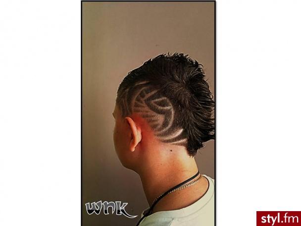wnk - Punk Rock Alternatywne Średnie Męskie Fryzury