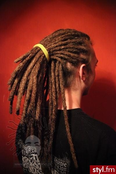 Fryzury Męskie Dredy Włosy Fryzury Męskie średnie