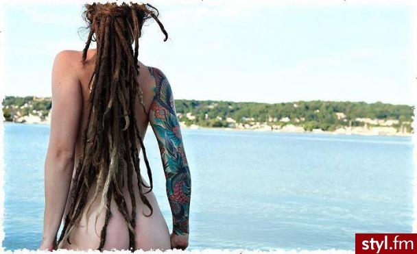 Brązowe Dredy Alternatywne Długie Fryzury