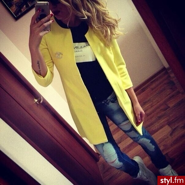 Płaszcze Okrycia Moda