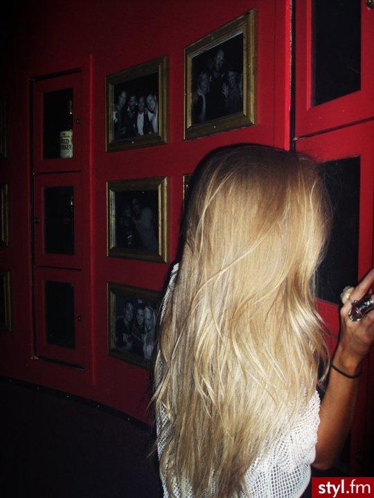 Blond Punk Rock Alternatywne Długie Fryzury