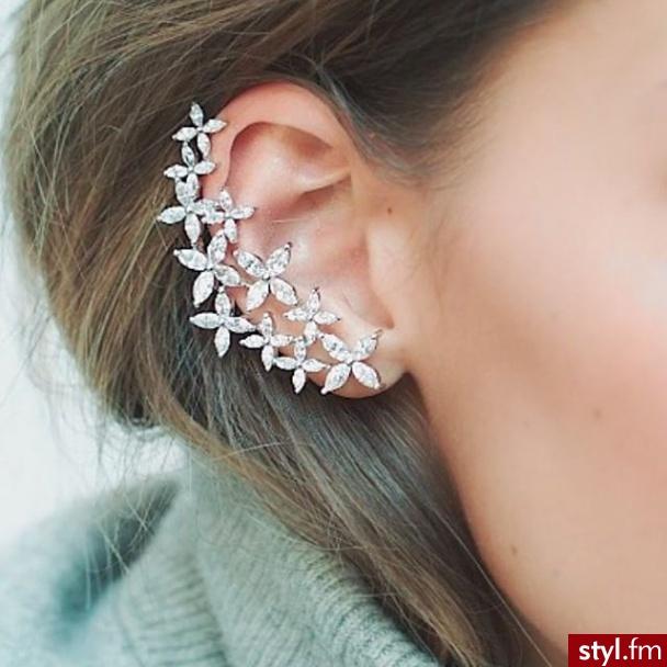 Kolczyki Biżuteria Moda