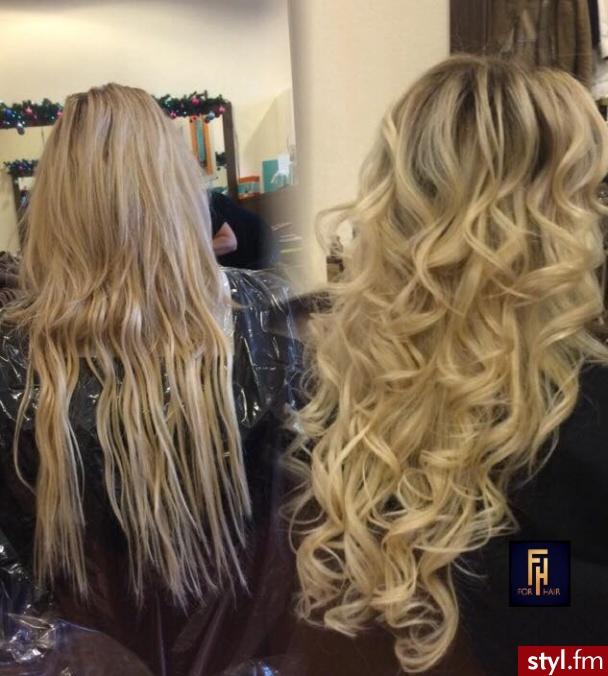 Sombre z Olaplex http://forhairsobieski.pl/ - Blond Rozpuszczone Kręcone Wieczorowe Długie Fryzury