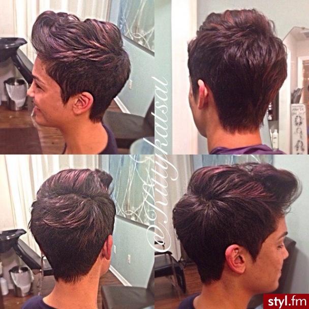 Fryzury Brązowe Włosy Fryzury Krótkie Na Co Dzień Proste