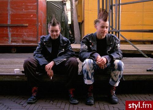 Punk Rock Alternatywne Średnie Męskie Fryzury