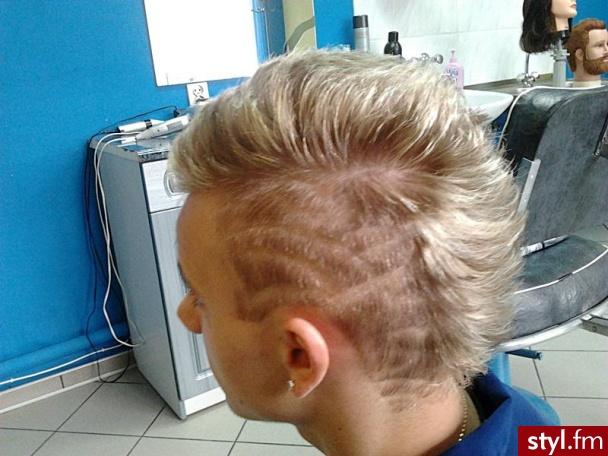 Blond Punk Rock Alternatywne Krótkie Męskie Fryzury